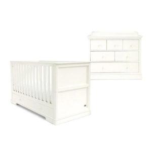 Mamas & Papas 2pc Oxford Room Set - White
