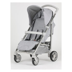 Bebecar Spot+ Pushchair with Raincover Grey