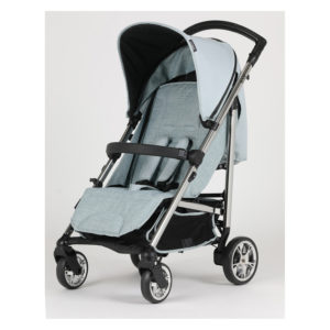 Bebecar Spot+ Pushchair with Raincover Blue