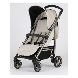 Bebecar Spot+ Pushchair with Raincover Beige