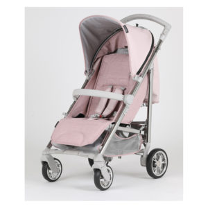 Bebecar Spot+ Pushchair with Raincover Pink