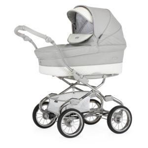 Bebecar Pack Stylo XL + Car Seat + Raincover - Silver Grey