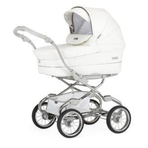 Bebecar Pack Stylo XL + Car Seat + Raincover - White Delight