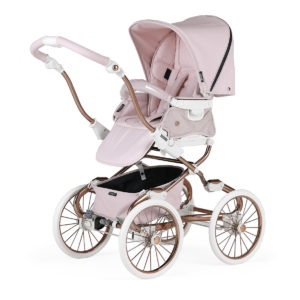 Bebecar Stylo Class+ Combination with Raincover and LA3 Kit Pink Shimmer