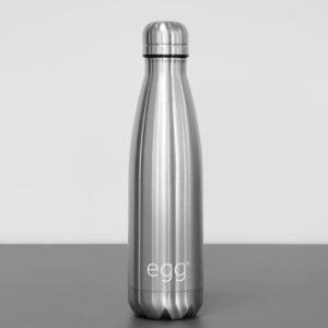 Egg® Stroller Bottle Brushed Steel