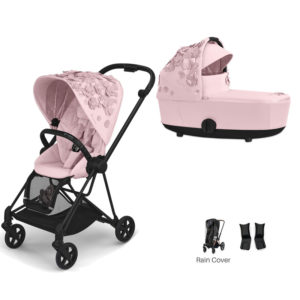 Cybex MIOS Stroller with Carrycot Simply Flowers Pink