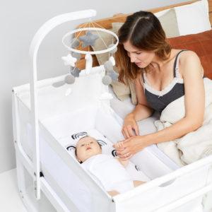 Snuz Baby Mobile - White