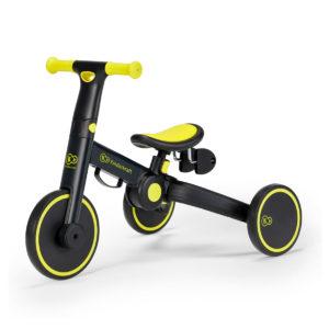 KinderKraft 3in1 4TRIKE Tricycle Black Volt