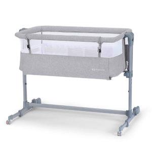 Kinderkraft Baby Cot Neste AIR Grey