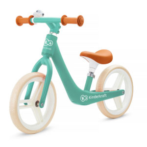 Kinderkraft Balance Bike FLY PLUS Midnight Green