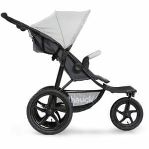 Hauck Runner Stroller Silver Grey